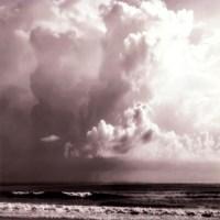 Ocean Storm I Sq. BW Fine Art Print