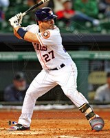 Jose Altuve 2013 Action Fine Art Print