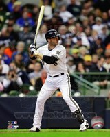 Ryan Braun 2013 Action Fine Art Print