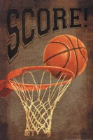Score Basketball Fine Art Print