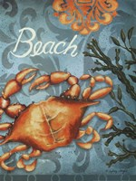 Beach Crab Fine Art Print
