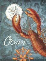 Ocean Lobster Fine Art Print