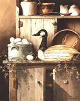The Pantry Goose Fine Art Print