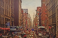 A Day in the City Fine Art Print