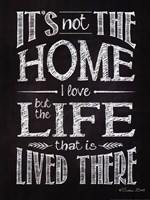 It's Not The Home Fine Art Print