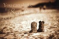 Shake  The Sand Fine Art Print