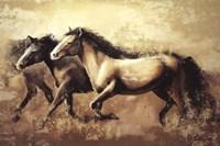 Galloping Horses Fine Art Print