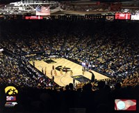 Carver-Hawkeye Arena University of Iowa Hawkeyes 2012 Fine Art Print