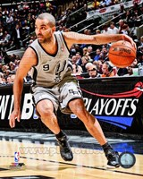 Tony Parker 2012-13 Playoff Action Fine Art Print