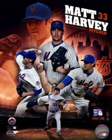 Matt Harvey 2013 Portrait Plus Fine Art Print