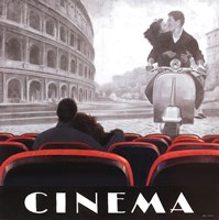 Cinema Roma Fine Art Print