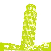 Pisa in Lime Fine Art Print