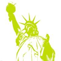 Liberty in Lime Fine Art Print