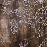 Graphic Leaves I Framed Print