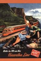 Hiawatha 1949 Fine Art Print