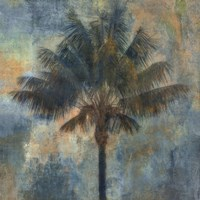 Palm and Blue Fine Art Print