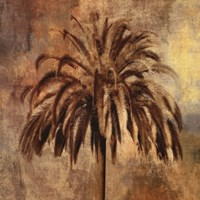 Golden Palm Fine Art Print