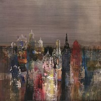 Penthouse View II Fine Art Print