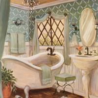 Designer Bath II Fine Art Print