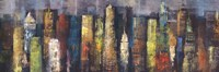 City Towers I Fine Art Print
