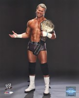 Dolph Ziggler Posing with the World Heavyweight Championship Belt 2013 Fine Art Print