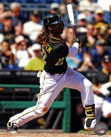 Andrew McCutchen 2013 Action Fine Art Print