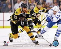 Zdeno Chara 2012-13 Playoff Action Fine Art Print