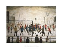 The Football Match Fine Art Print