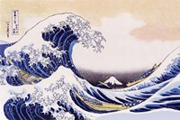 Great Wave Of Kanagawa Framed Print