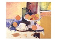 Still Life With Oranges Fine Art Print