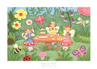 Fairy Fun Framed Print