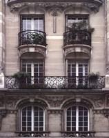 Balcon Parisien II Fine Art Print