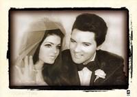 Elvis Presley Weds, 1967 Fine Art Print