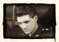Elvis Quits U.S. Army, 1960 Fine Art Print