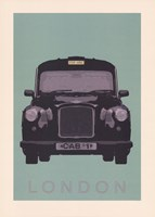 London - Cab I Fine Art Print