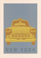 New York - Cab Fine Art Print