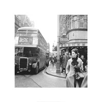 Tottenham Court Road And Oxford Street Junction, 1965 Fine Art Print