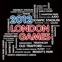 London Games Fine Art Print