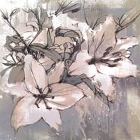 Painted Lilies II Fine Art Print