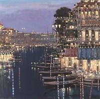 Riviera Twilight Fine Art Print