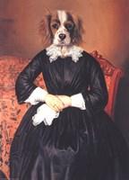 Mademoiselle Fine Art Print
