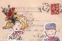 Carte Postal III Fine Art Print