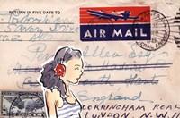 Carte Postal IV Fine Art Print