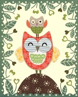 Folksy Friends I Fine Art Print