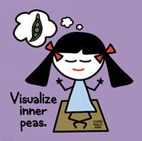 Visualize Inner Peas Fine Art Print