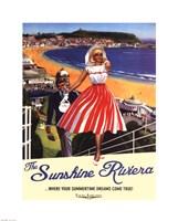 Sunshine Riviera Fine Art Print
