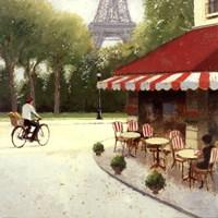 Cafe du Matin III Fine Art Print