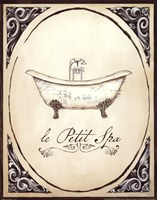 Le Petit Spa I Framed Print