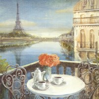 Morning on the Seine Crop Fine Art Print