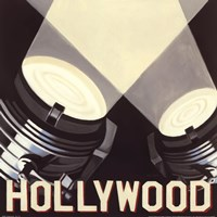 Hollywood Fine Art Print
